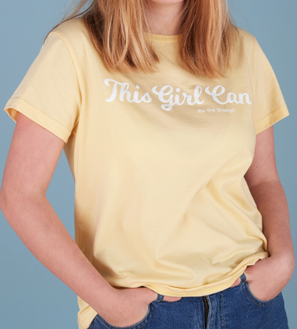 Be Line - This girl can. Be the change. T-Shirt
