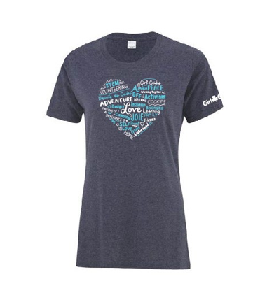 Heart Wordle T-Shirt - ADULT