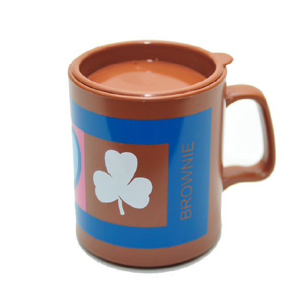 MUG WITH LID - BROWNIE