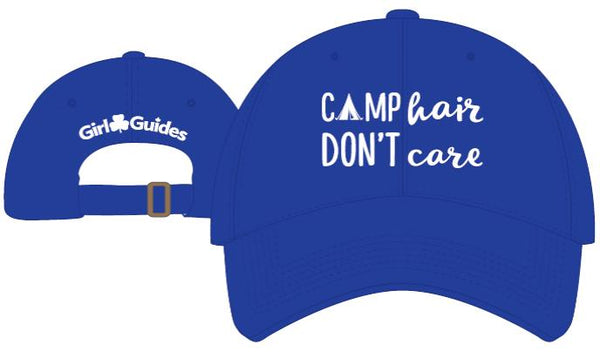 CAMP HAIR DON'T CARE BASEBALL CAP