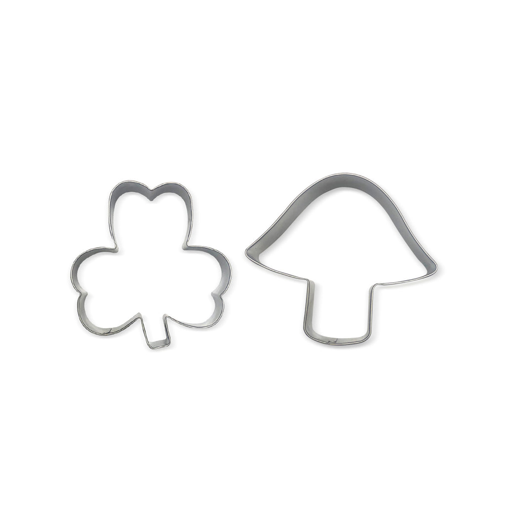 Brownie 100th Anniversary Trefoil and Toadstool Cookie Cutters