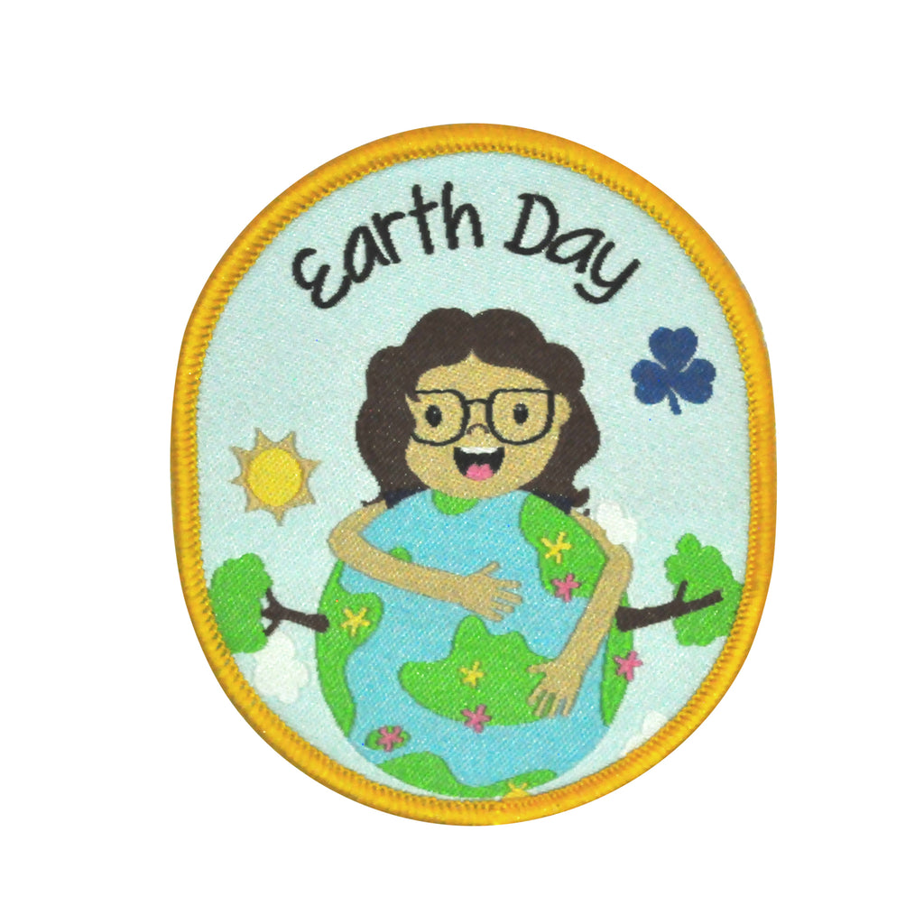 Earth Day Crest