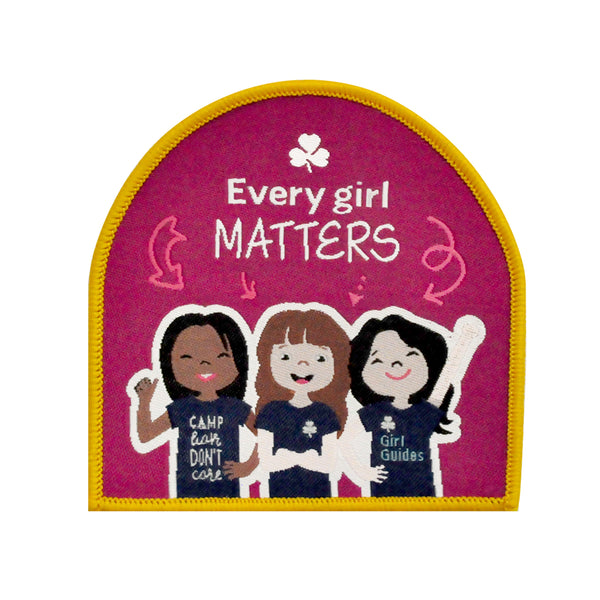 Every Girl Matters Crest