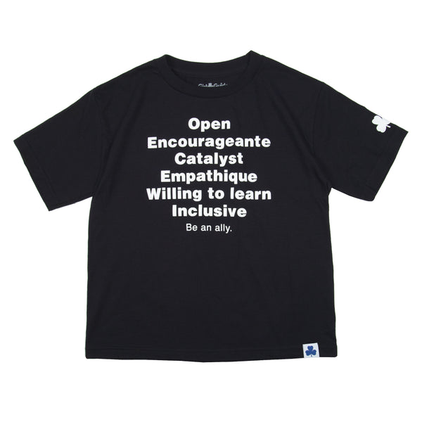 Be an Ally. T-Shirt - Youth