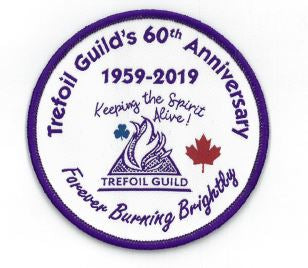 Trefoil Guild 60th Anniversary Design Contest Crest