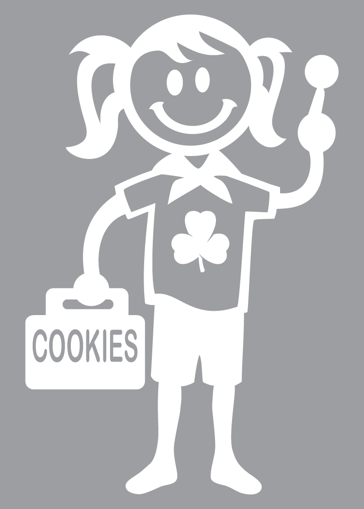 COOKIE WINDOW CLING