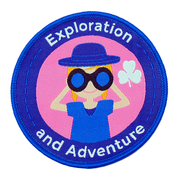 EXPLORATION & ADVENTURE CREST