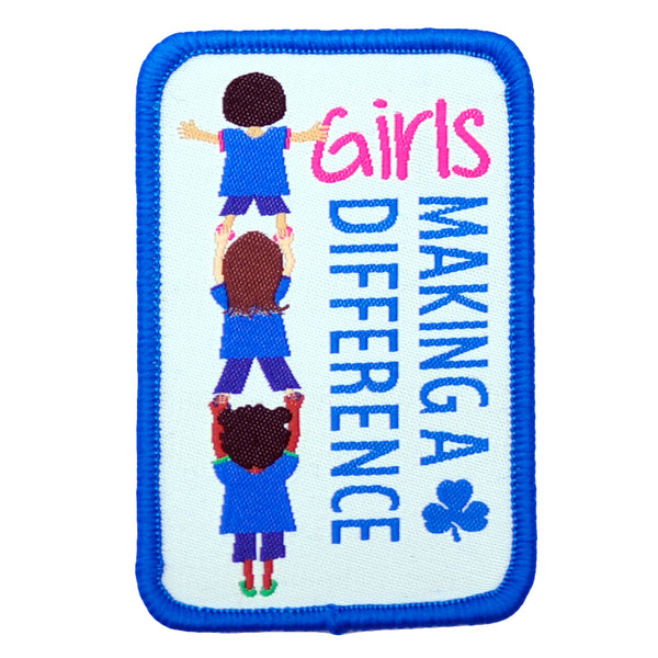 GIRLS MAKING A DIFFERENCE  CREST