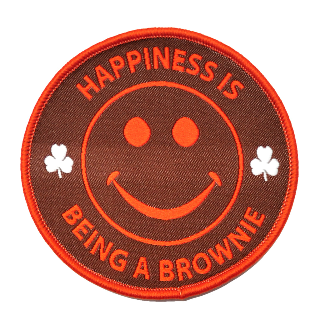 HAPPINESS IS BEING A BROWNIE
