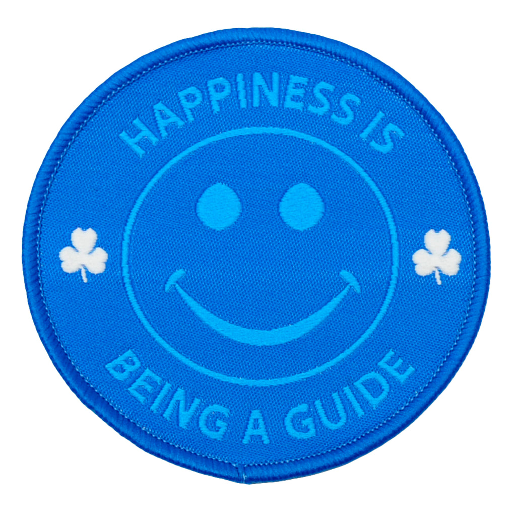 HAPPINESS IS BEING A GUIDE