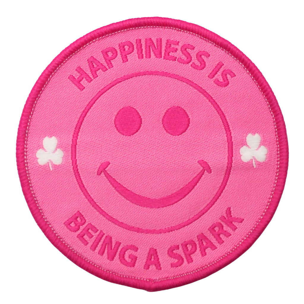 HAPPINESS IS BEING A SPARK