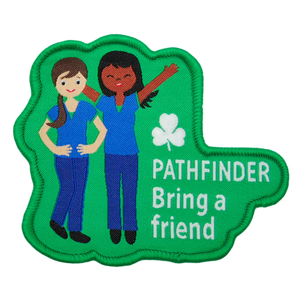 PATHFINDER BRING A FRIEND CREST