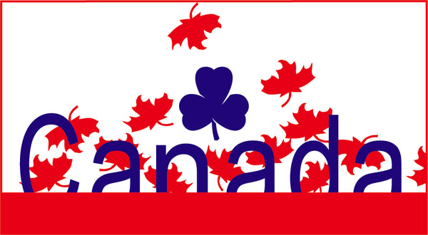 GIRL GUIDES OF CANADA FLAG PATCH