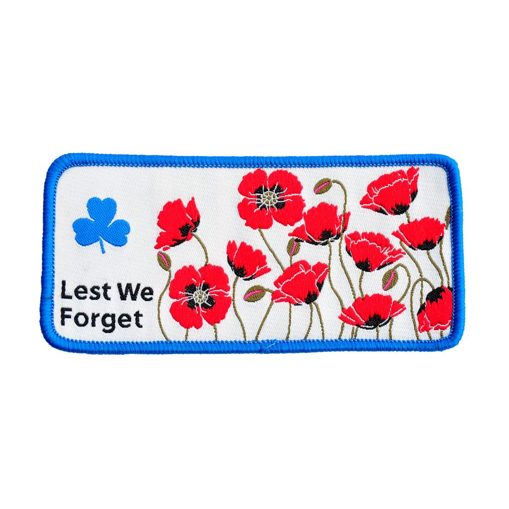 LEST WE FORGET / REMEMBRANCE  DAY CREST