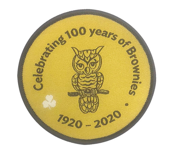 Brownie 100th Anniversary Crest