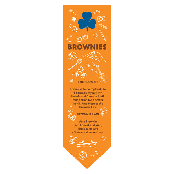 BOOKMARK - BROWNIE