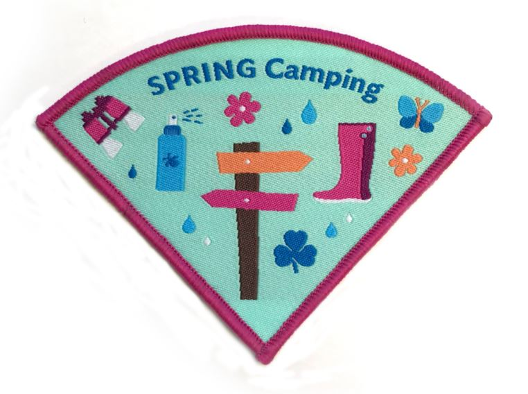 Camping Crest - Spring