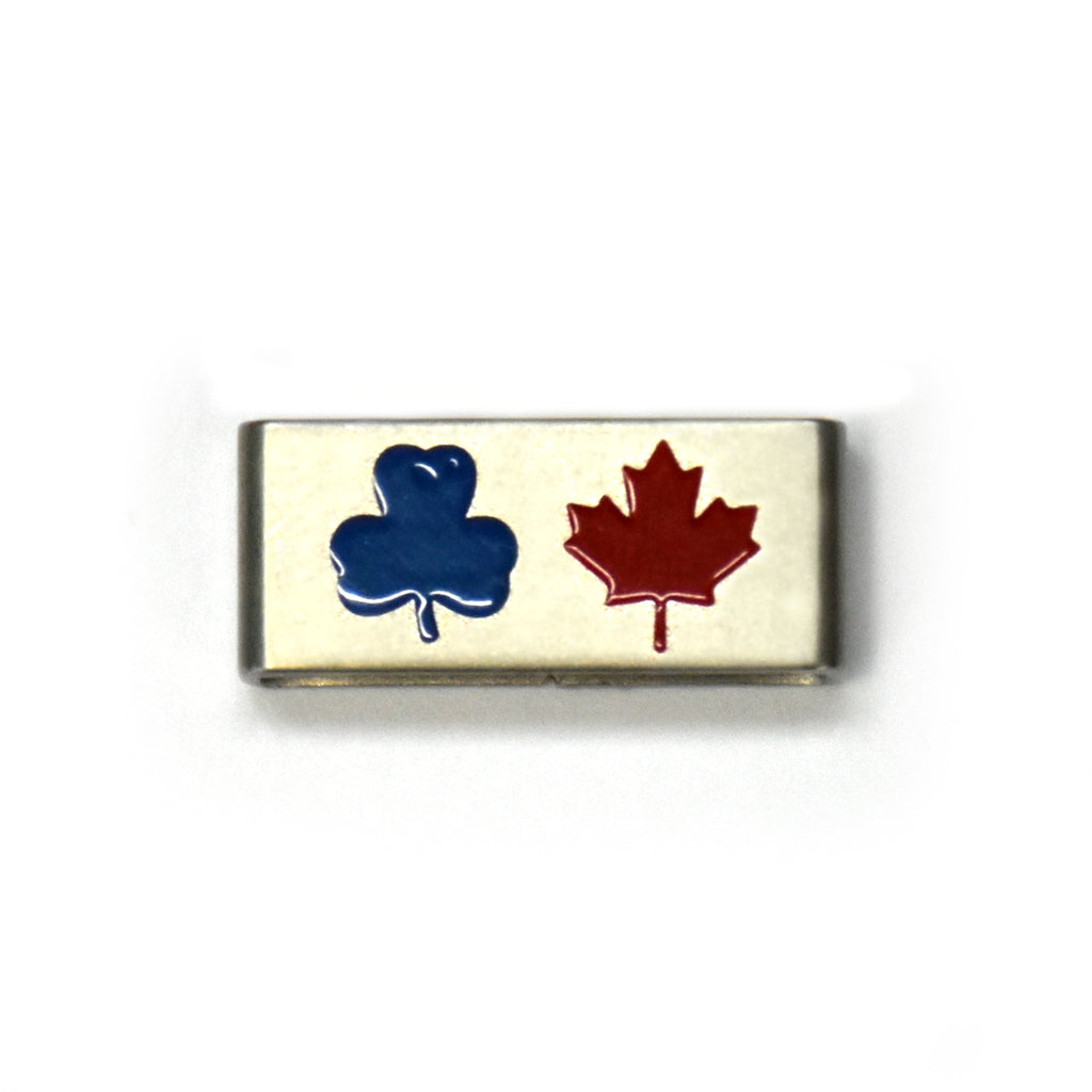 Guiding Charm - TREFOIL & MAPLE LEAF COLLECTIBLE CHARM