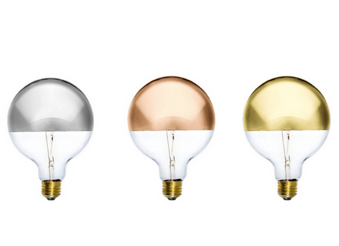 Light Bulb Trends: Dipped Light Bulbs
