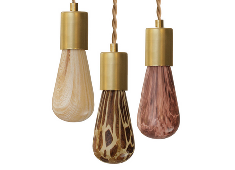 Lighting Trend: Patterned Light Bulbs