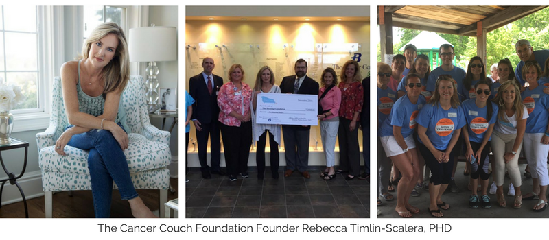 Photos of Cancer Couch Foundation Founder Rebecca Timlin-Scalera