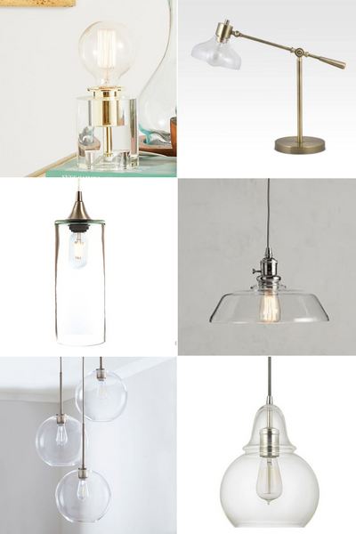 Best Glass Light Fixtures from pendant to chandelier