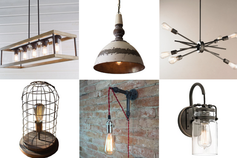 Rustic light fixtures for cabin decor