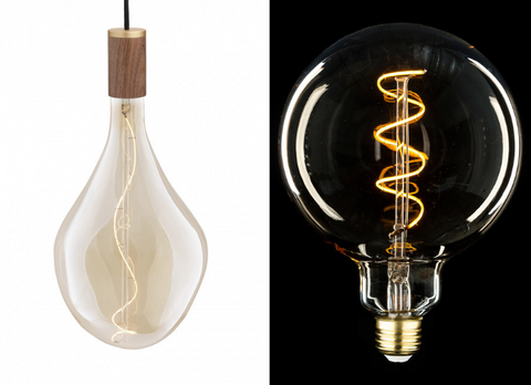 Lighting Trend: Over-sized light bulbs