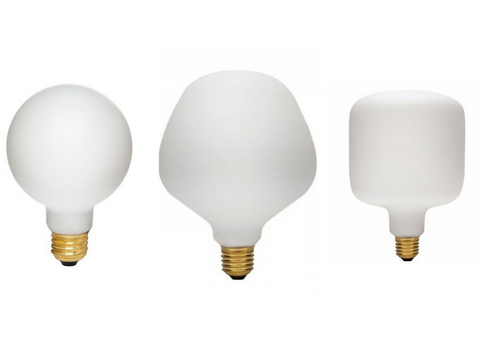 Porcelain Light Bulbs