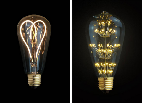 Light Bulb Trends: Creative Filament Shapes