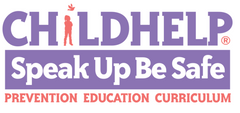 Childhelp Speak Up Be Safe logo