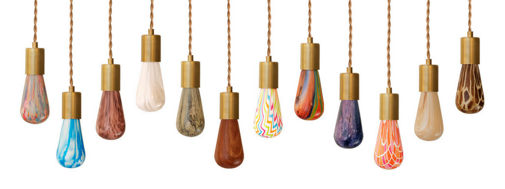 Relamp offers colorful edison bulb alternatives with our Printed Light Bulb collection