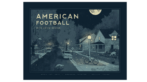 Nicholas Moegly American Football Poster