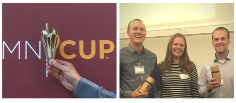 Relamp team at the MN Cup Kick-Off Event