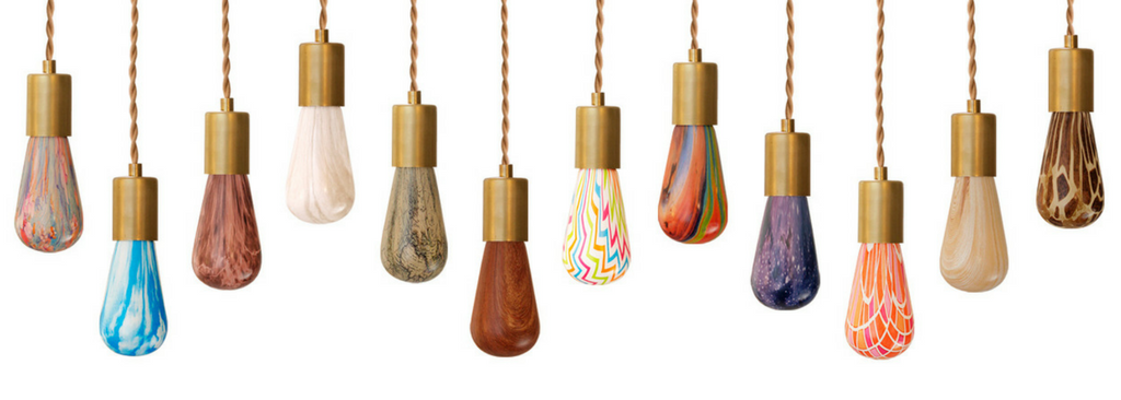 Relamp Printed Light Bulb Collection Featuring Colorful Designs From Giraffe Print to Marble