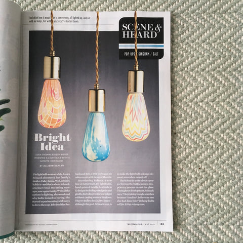 Relamp Printed Light Bulbs Featured in Mpls.St.Paul Magazine