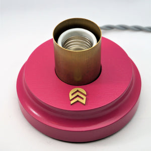 Touch Table Lamp in Lux Fuscia