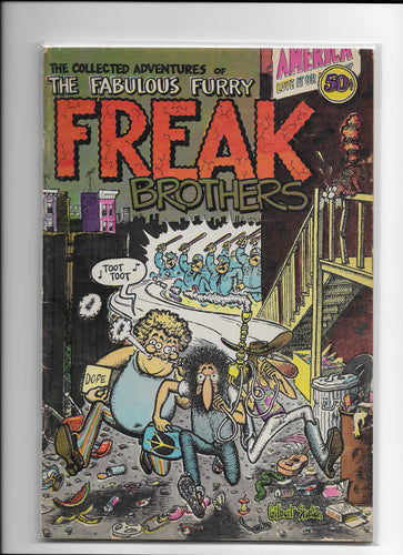 The Fabulous Furry Freak Brothers #1