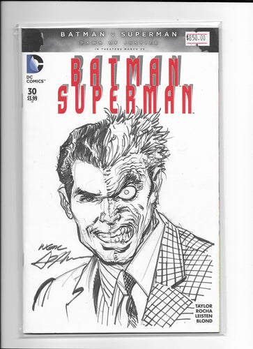 Two Face Commission (Neil Adams)