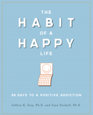 The Habit of Happy by Jeff Zeig; Free Resiliency Questionaiire chart included!