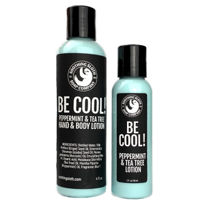 Be Cool! Peppermint & Tea Tree Lotion