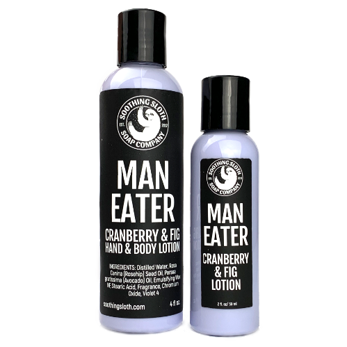 Man-Eater Cranberry & Fig Lotion