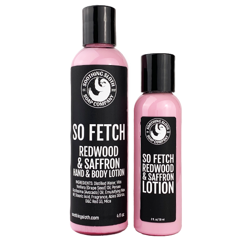 So Fetch! Redwood & Saffron Lotion