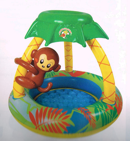 PISCINE GONFLABLE GO BABANAS MONKEY