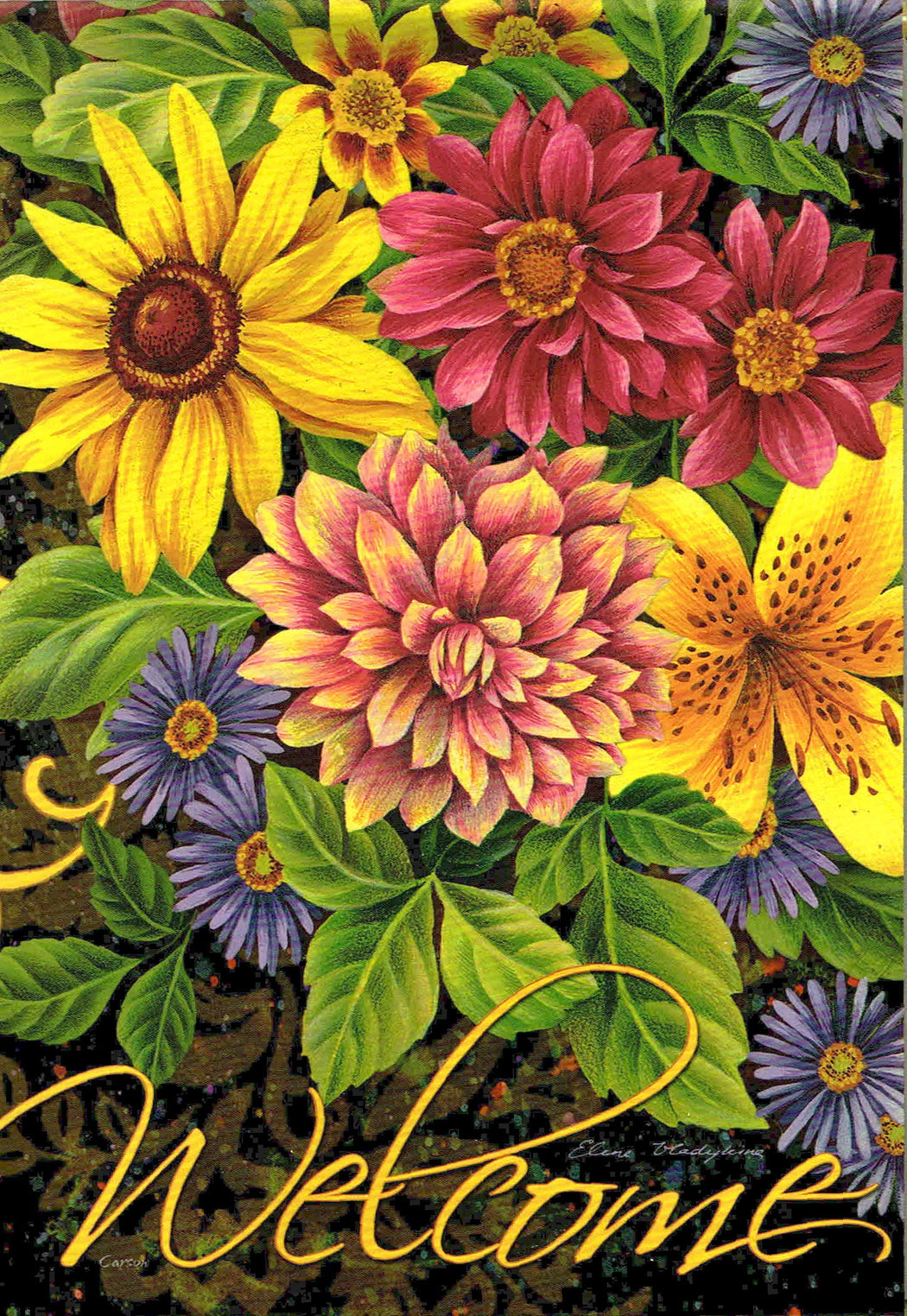 FALL DAHLIAS & DAISIES