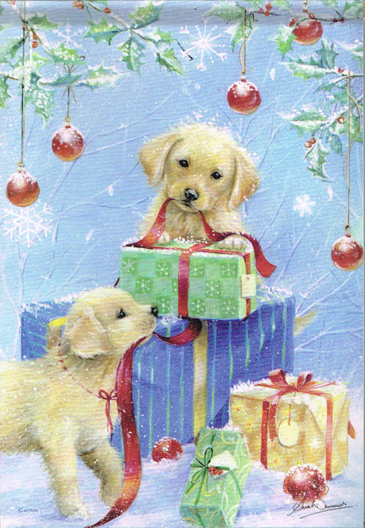 PRESENTS & PUPPIES