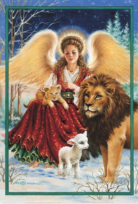 ANGEL, LION & LAMB