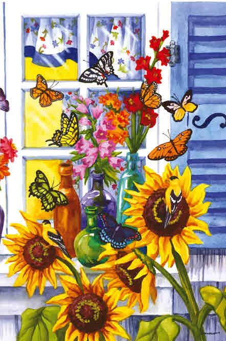 BUTTERFLY WINDOW GARDEN