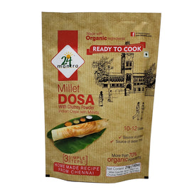 24 Mantra Organic Millet Dosa with Chutney(Ready to Cook)