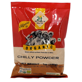 24 Mantra Organic Chilli Powder